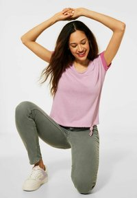 Street One - COSY  - Print T-shirt - pink - 1