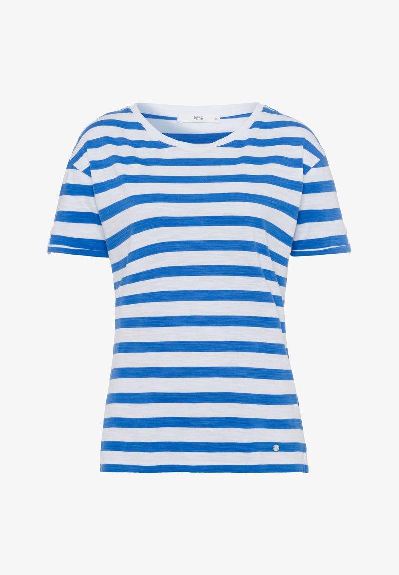 BRAX - STYLE CAMILLE - Print T-shirt - ocean