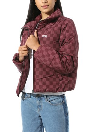 WM FOUNDRY V PRINTED PUFFER MTE - Winter jacket - port royale checkerboard