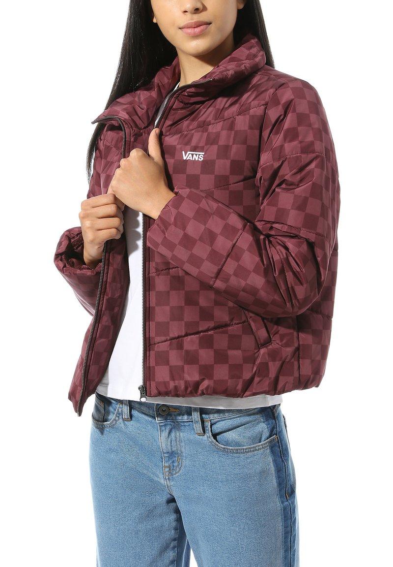 Vans - WM FOUNDRY - Winter jacket - port royale checkerboard