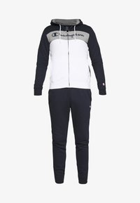 Champion - HOODED FULL ZIP SUIT - Chándal - dark blue - 7