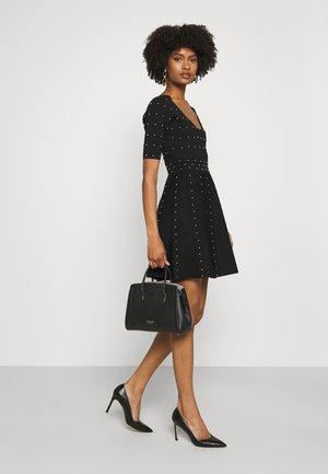 MEDIUM SATCHEL - Handbag - black