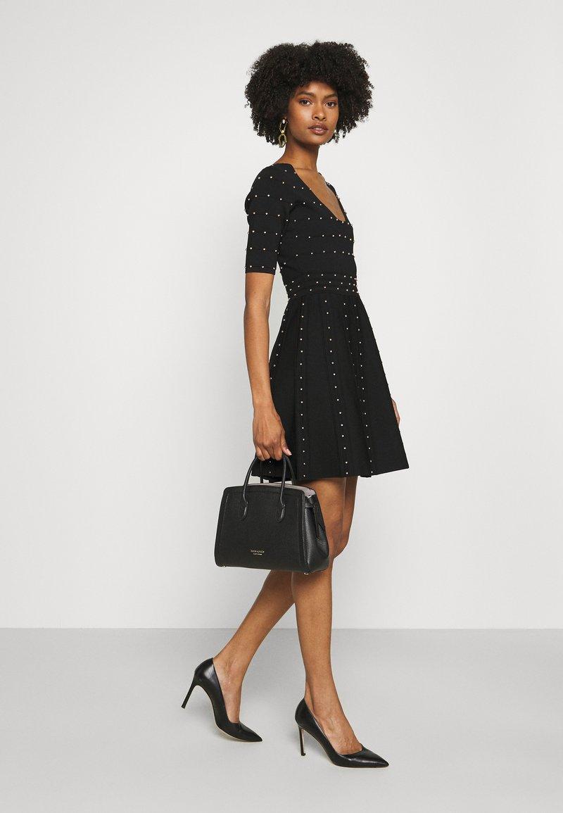 kate spade new york - MEDIUM SATCHEL - Handbag - black