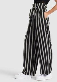 khujo - EIVOLA - Trousers - grey/black - 3