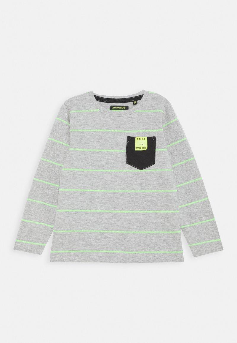 Lemon Beret - BOYS  - Long sleeved top - grey melange