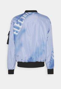 Blood Brother - COOMBE REVERSIBLE UNISEX - Bomber Jacket - black/blue - 7