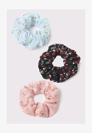 3 PACK - Hair Styling Accessory - blue/black/pink