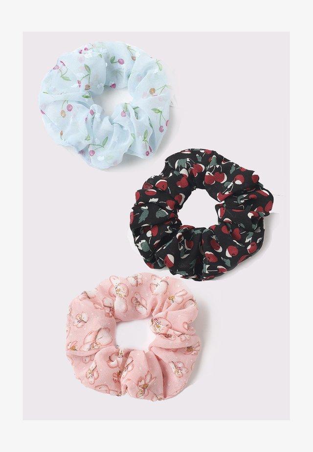 3 PACK - Příslušenství kvlasovému stylingu - blue/black/pink