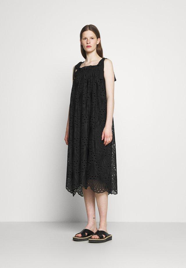 PEACOCK CHRISTINE  - Day dress - black