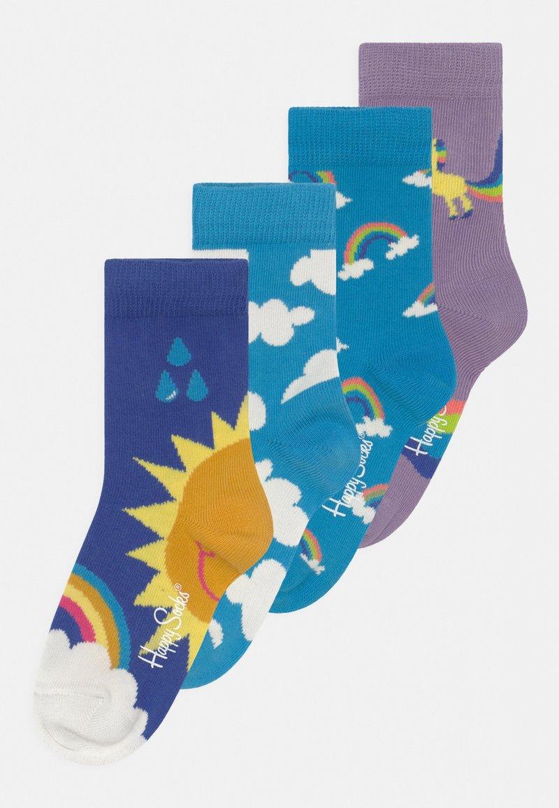 Happy Socks - UNICORN & RAINBOW & AFTR RAIN 4 PACK UNISEX - Socks - multi-coloured