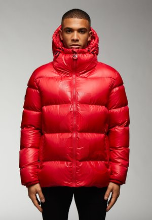 Down jacket - cherry red