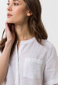 BRAX - STYLE VANIA - Button-down blouse - white - 4