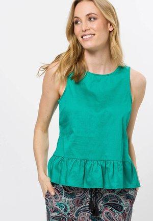Top - emerald green