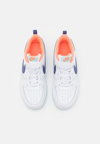 Nike Sportswear - COURT BOROUGH 2  - Baskets basses - white/dark purple dust/copa/bright mango - 3
