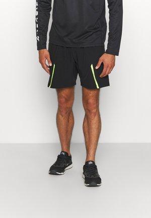 SAMIEN SHORTS - Sports shorts - black
