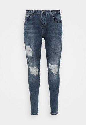 JTINLEY DESTROY AMY - Jeans Skinny Fit - blue denim