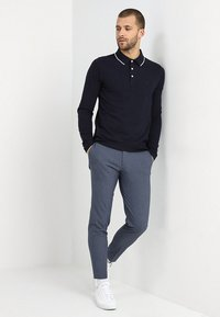 Lindbergh - CLUB PANTS - Pantaloni - blue mix - 1