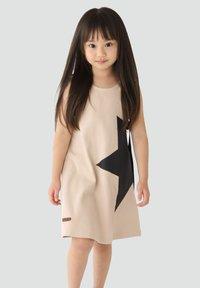 Rora - Korte jurk - beige - 2