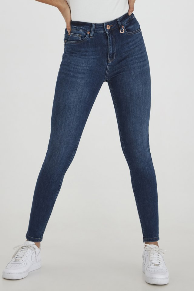 PZLIVA  - Jeans Skinny Fit - medium blue denim