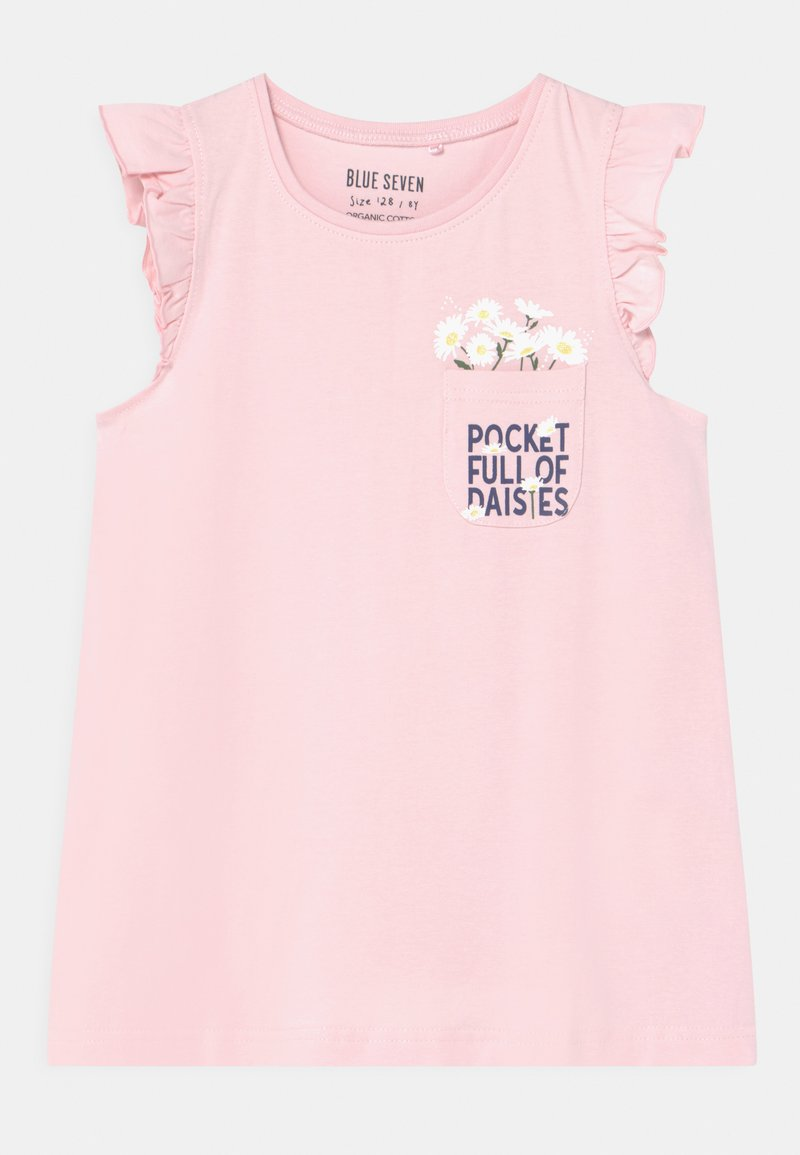 Blue Seven - SMALL GIRLS DAISY - Print T-shirt - rosa