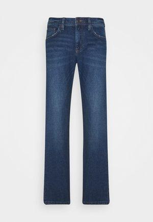 Straight leg jeans - blue medium wash