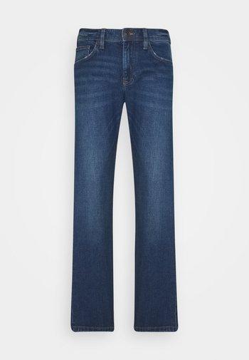 Straight leg -farkut - blue medium wash