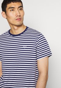 Barbour - DELAMERE STRIPE TEE - Print T-shirt - inky blue - 3