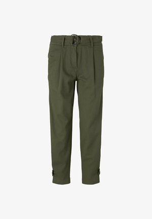 Trousers - grape leaf green