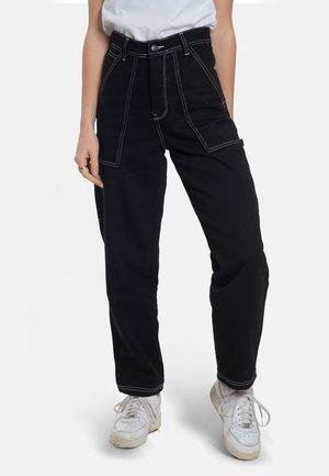 X-TRA WORK - Trousers - black