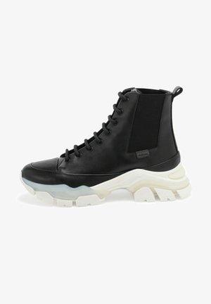 BLONDIE - Sneakersy wysokie - black cactus