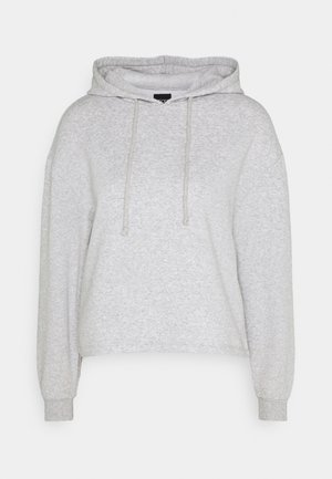 PCCHILLI HOODIE - Jersey con capucha - light grey melange