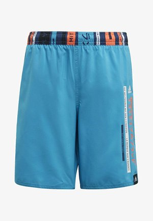 COLORBLOCK SWIM SHORTS - Uimashortsit - blue
