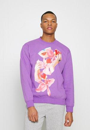Sweatshirt - orchid