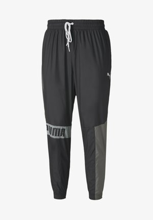 Tracksuit bottoms - black-ultra gray-white