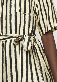 Sand Copenhagen - PERSIS - Shirt dress - yellow - 4