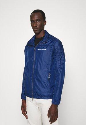 BLOUSON JACKET - Summer jacket - blu navy
