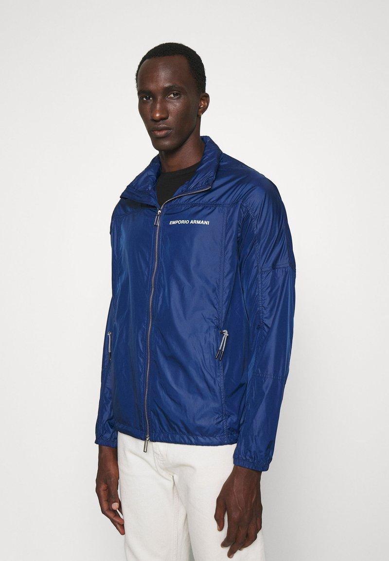 Emporio Armani - BLOUSON JACKET - Summer jacket - blu navy