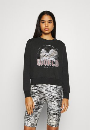 ONLLUCINDA LIFE WINGS BOX - Sweatshirt - black