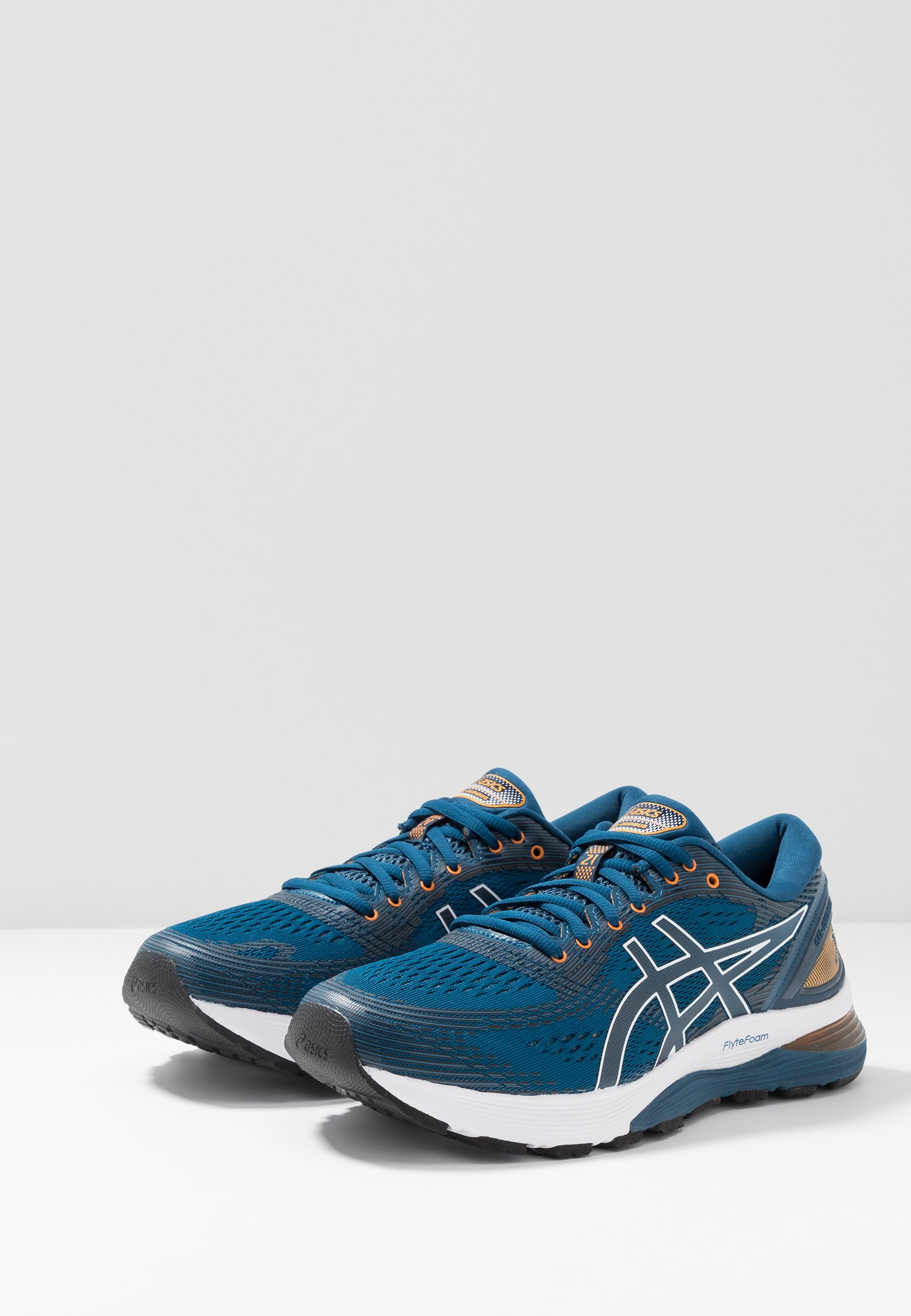 GEL-NIMBUS 21 - Zapatillas de running neutras - mako blue/black