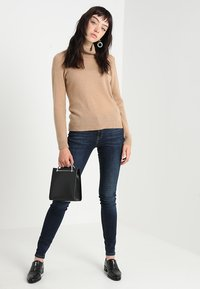 Selected Femme - SLFIDA SKINNY - Jeans Skinny Fit - dark blue denim - 1