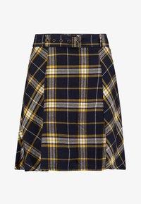 edc by Esprit - SOFT - A-line skirt - navy - 3