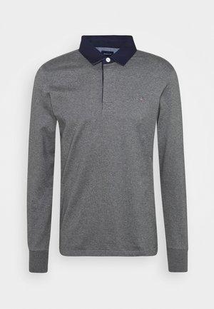 THE ORIGINAL HEAVY RUGGER - Polo - mottled dark grey