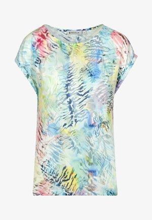 BURNOUT - T-shirt print - pastels