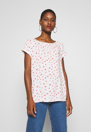 SPORTY ALL OVER PRINTED BLOUSE - Blouse - light flower print/white