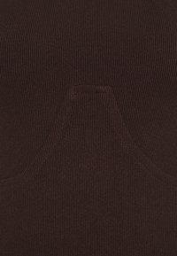 4th & Reckless - PEPPA BODYSUIT - Long sleeved top - brown - 2
