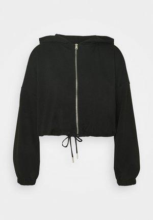 ONLSCARLETT ZIP HOOD - Zip-up hoodie - black