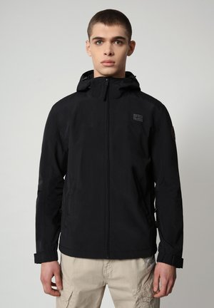 SHELTER HOOD - Light jacket - black