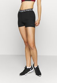 The North Face - WOMENS ESSENTIAL SHORTY - Tights - black - 0
