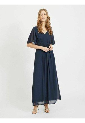 Robe longue - navy blazer