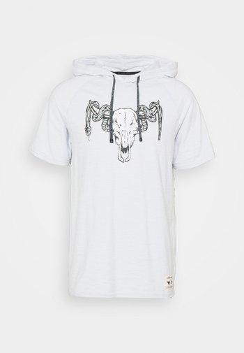 PROJECT ROCK - T-shirts print - halo gray